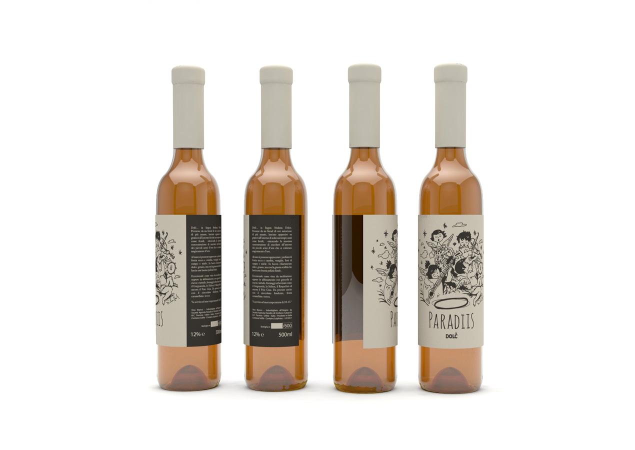 Grafica Etichetta Vino