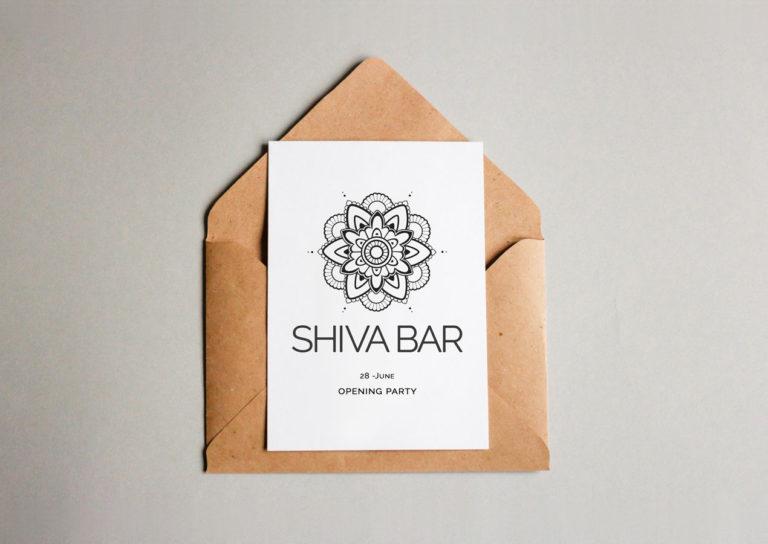 Logo Design Shiva Bar